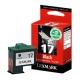 Lexmark 17 BK originál