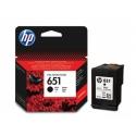 HP no.651 BK C2P10AE originál