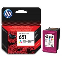 HP no.651 Trikolor C2P11AE originál