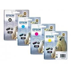 Epson 26XL T2631, T2632, T2633, T2634 originál