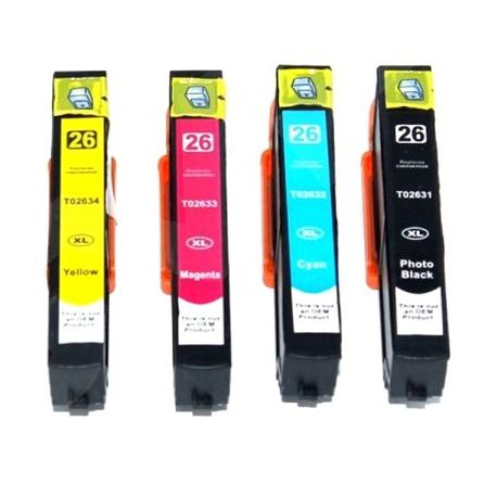 Epson 26XL T2631, T2632, T2633, T2634 kompatibil