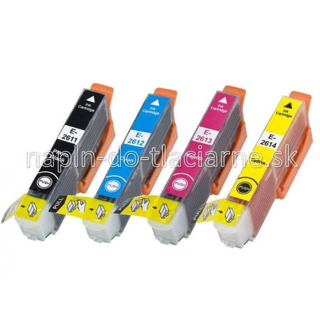 Epson 26 T2611, T2612, T2613, T2614 kompatibil