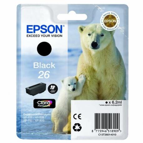 Epson 26 T2601 originál