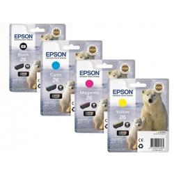 Epson 26 T2611, T2612, T2613, T2614 originál