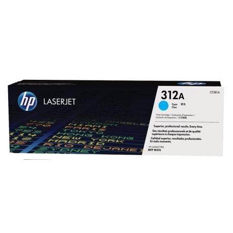 HP CF381A 312A BK originál