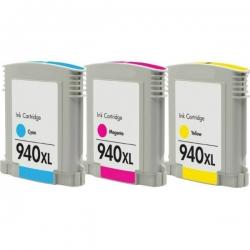 940 XL CMY kompatibil