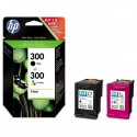 HP no.300 color + no.300 blk originál PACK