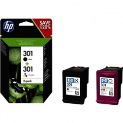 HP no.301 Color + Blk originál PACK