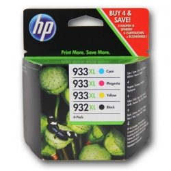 HP no.932 XL + 933 XL pack original C2P42AE