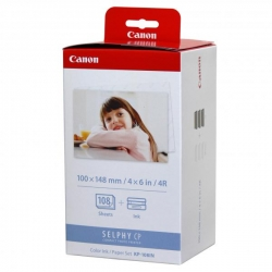 Canon SELPHY CP  Color Ink KP108IN foto-3 bal. KP36IN lesk/biely original
