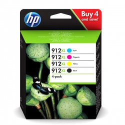 HP no.912 XL CMYK PACK 3YP34AE originál 825str.