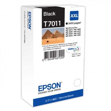 Epson T7011 BK originál 4300str.